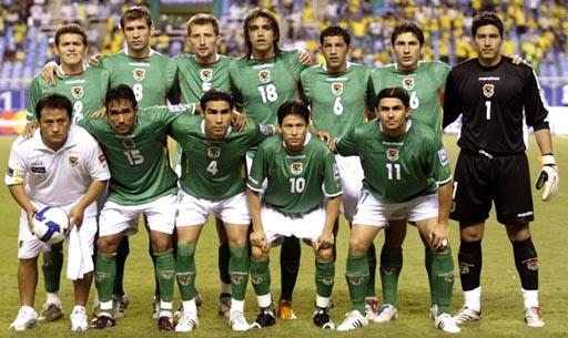 820994d62 Bolivia National Team