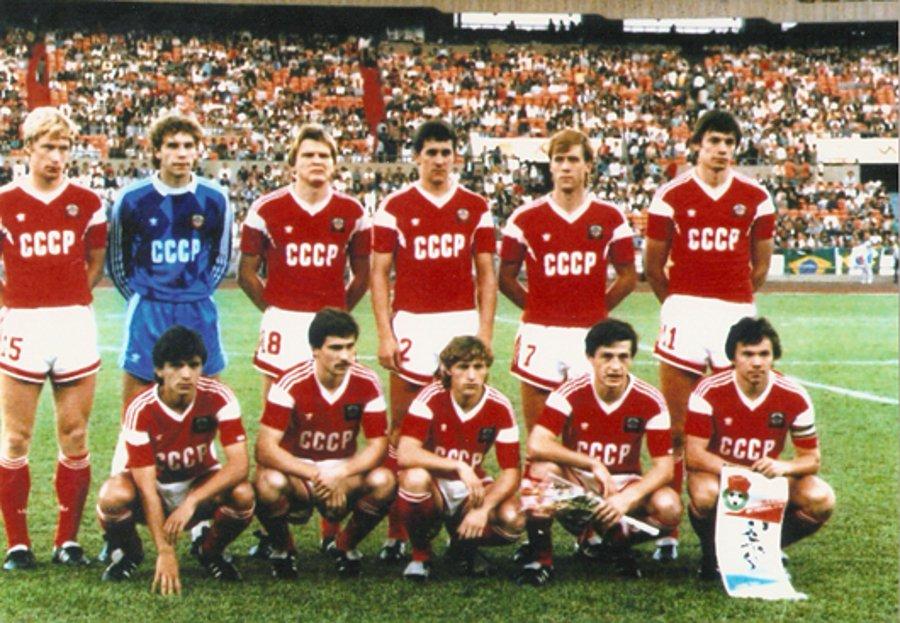 reprezentacja Wandystanu przed meczem ze Slawonią